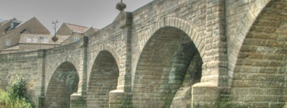 Photograph of Wetherby Road Bridge