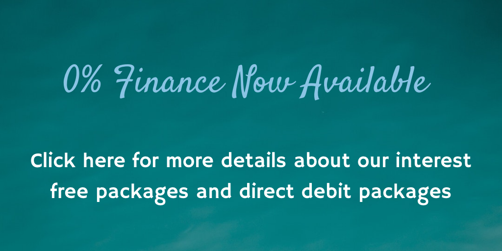 0% Finance and Direct Debit now available