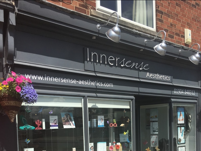 The front of our clinic in Boroughbridge Road, York